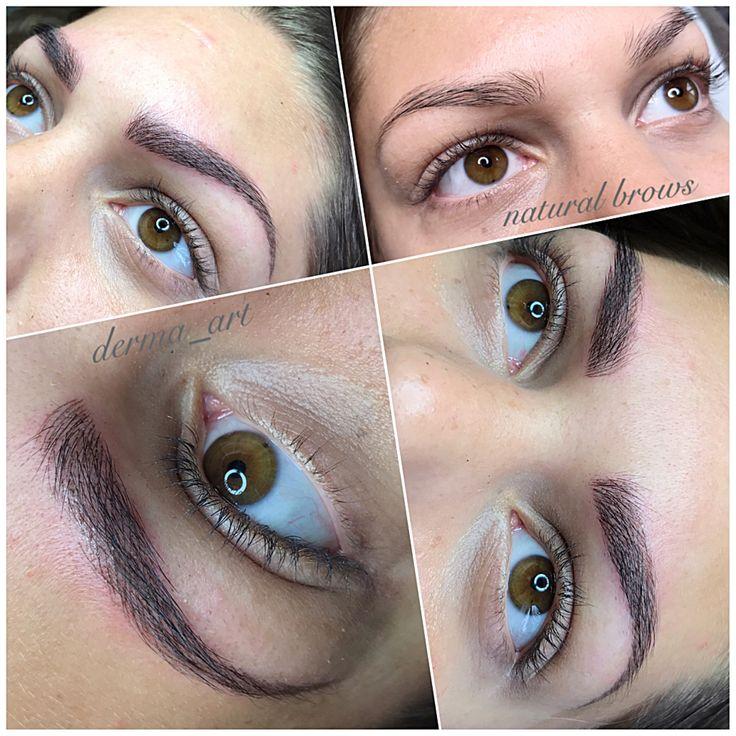 derma_art natural brows • brisaart • permanentmakeup • eyebrowtattoo • www.brisaart.hu