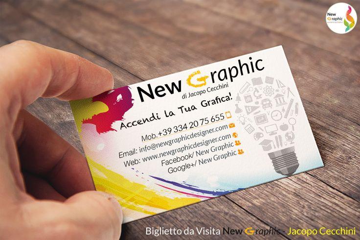 Biglietto da visita - New Graphic