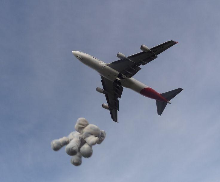 Jumbos flying in formation see www.teddybearlife.com