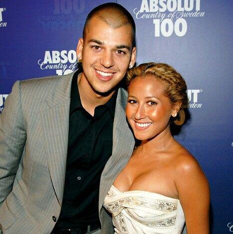 Adrienne Bailon and her then Boyfriend Robert Kardashian