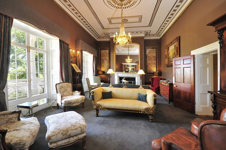 Quamby Estate's Executive Lounge #quambyestate #launceston #tasmania #hotel #historical