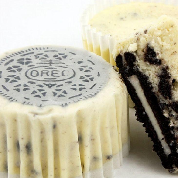 Cookies and Cream Mini Cheesecakes Recipe