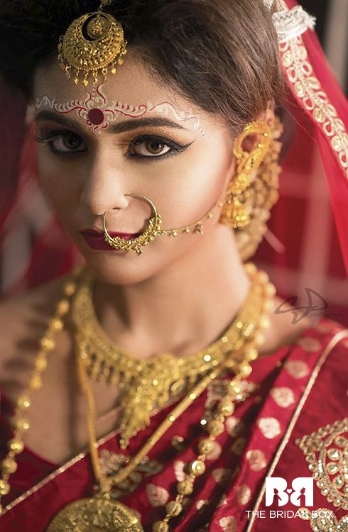 5 Pointers To Get The Perfect Bengali Bridal Makeup