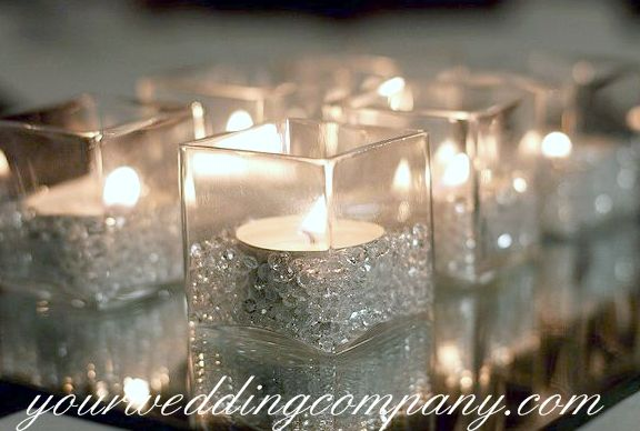 Bling Wedding Centerpieces | Image Detail