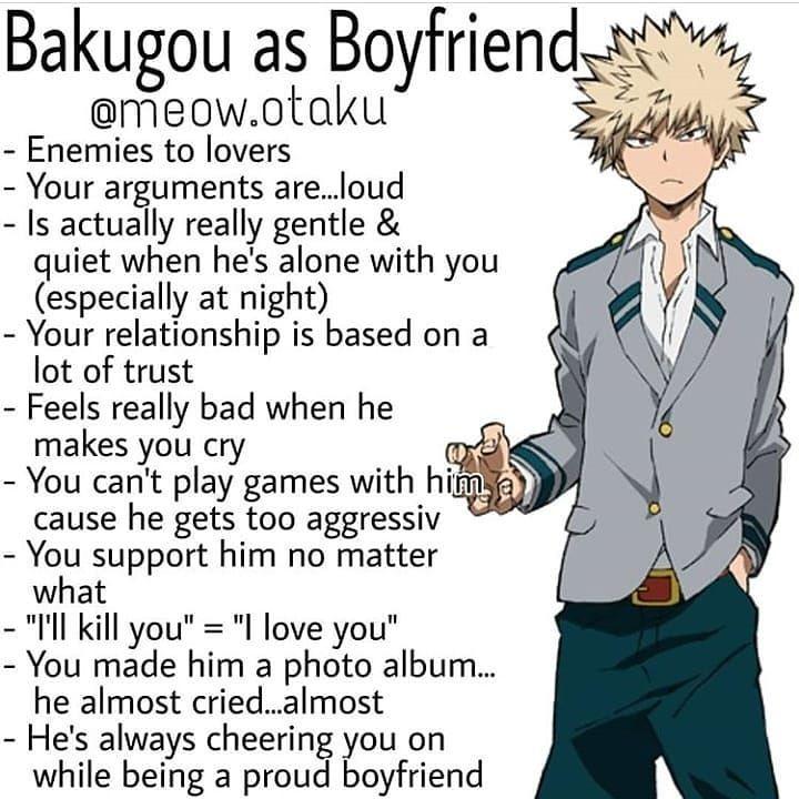 Bnha boyfriend headcanons