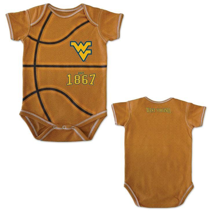 MVP WVU Basketball Infant Onesie