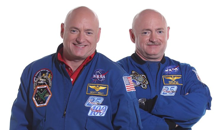 Twin Nasa astronauts Mark and Scott Kelly are to put Einstein to the test in a pioneering study that could pave the way for humankind reaching Mars