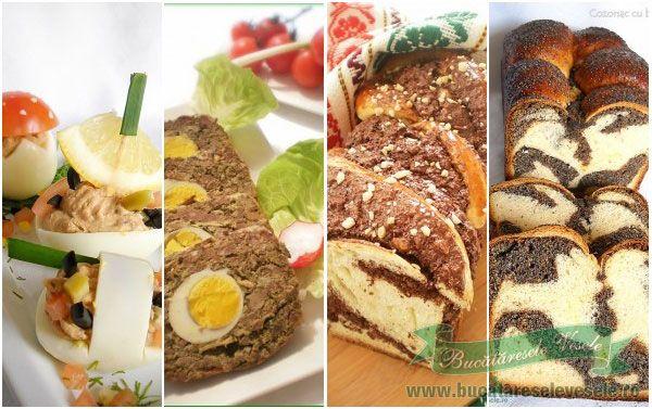 Retete Traditionale de Pasti din Ardeal si Moldova.Cum preparam ciorba de miel,drob de miel,pasca de pasti,cozonac de pasti,iepurasi si oute de pasti, oua rosii