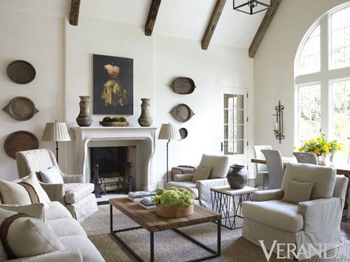 "Things That Inspire: ""Simply Belgian"" interiors by Jim Howard, featured in Veranda"