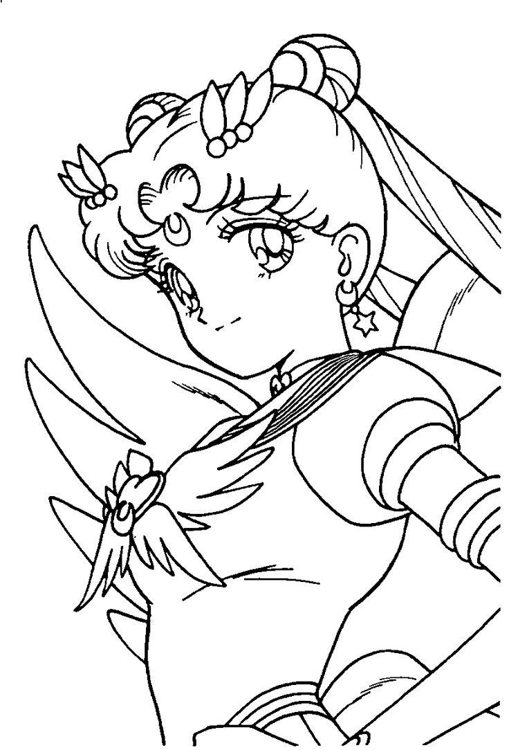 1000 Ideas Sobre Dibujos De Sailor Moon En Pinterest