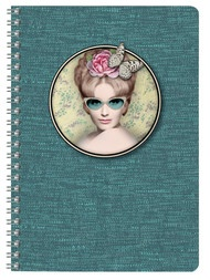 Cakes de Bertrand 2 - A5 Wirebound Notebook - Available in 4 Designs
