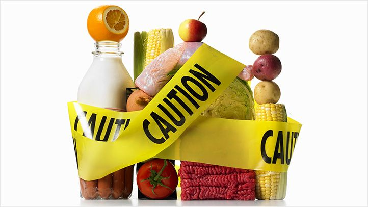 Roughly 50 million Americans get sick every year from eating food contaminated with bacteria, parasites, or viruses.