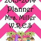 Ultimate Teacher Planner 2013-2014 - Pink Chevron Theme, Everything a Teacher Could Want All in One Place. 276-page ULTIMATE TEACHER PLANNER, a teacher's dream come true! Through many hours of preparation, I am now offering this great organizational tool to teachers worldwide. Lots of choices to make this planner truly work for you. So many things included with new additions this year. Check it out. You will love the style and functionality this planner offers you!