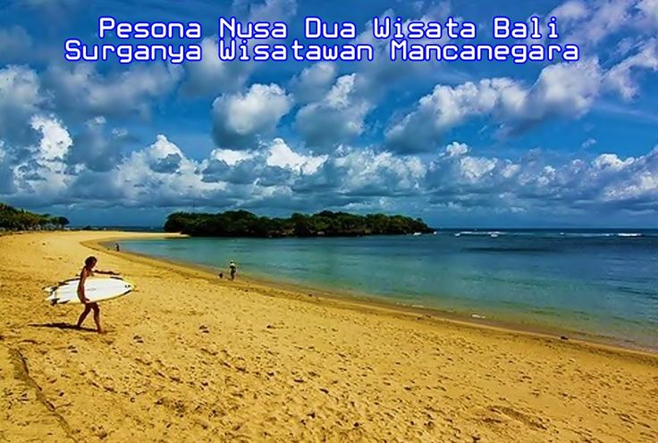#travelpirates Nusa Dua is an area in the southern part of Bali, Indonesia, known as an enclave of large 5-star resorts.