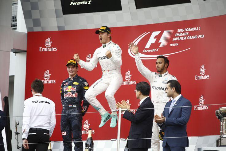 F1 Suzuka dla Mercedesa i Rosberga https://www.moj-samochod.pl/Nowosci-motoryzacyjne/F1-Japonia--Mercedes-zdobyl-trzeci-tytul-konstruktorow-z-rzedu #f1japan #GPJapan #suzukacircuit #MercedesAMGF1  #Rosberg
