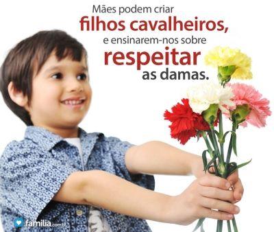 Familia.com.br | Como ensinar filhos homens a serem cavalheiros #Educacao #Cavalheirismo #Filhos