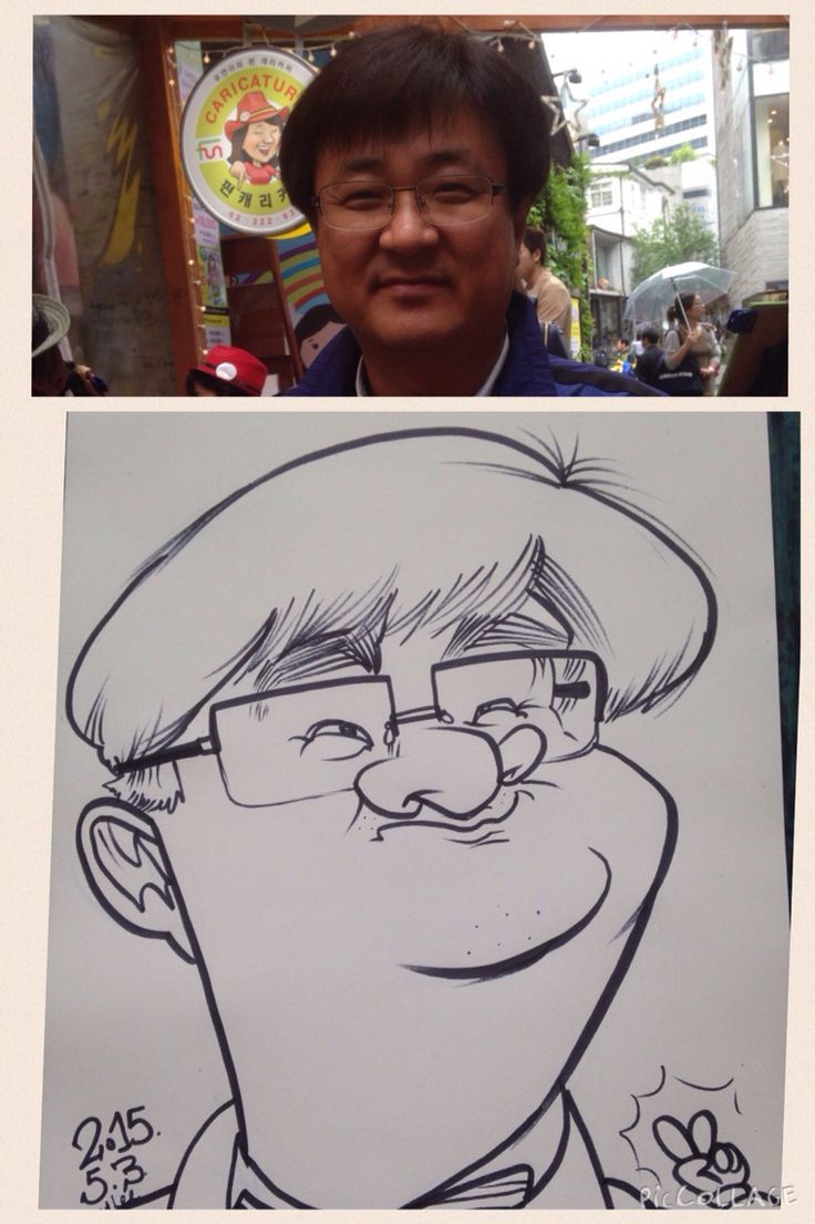 Caricatures by Wilfred Lee