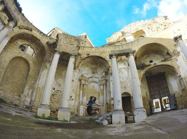 Chiara Magi - Sicilian Vibes - Sant'ignazio Church ruins in Mazara del Vallo