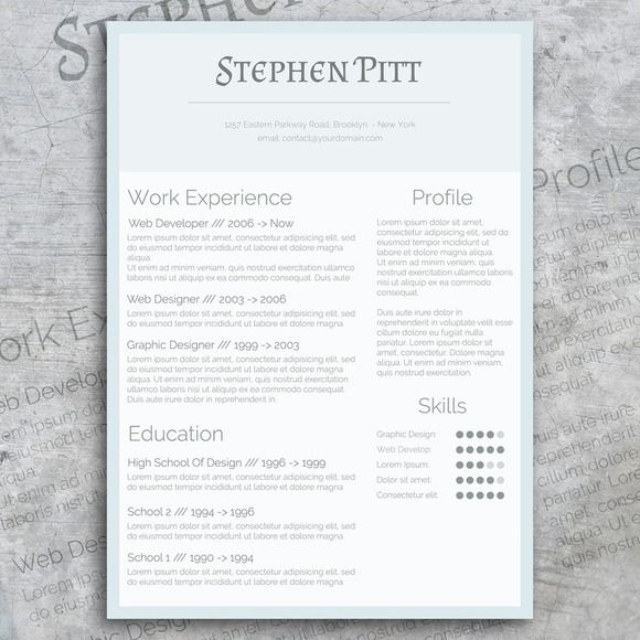 Best Cv Resume  Cover Letter Designs Images On