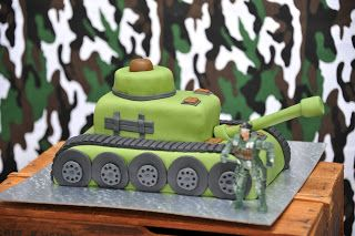 organizitpartystyling: Army Birthday Party: The Cake