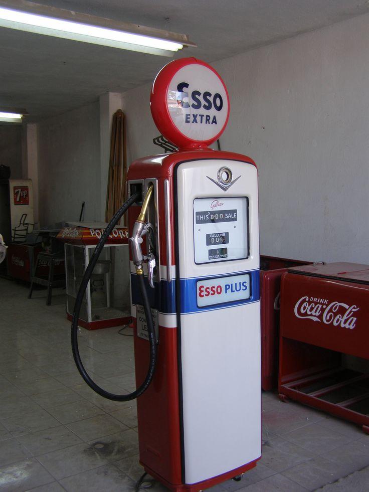gilbarco gas pump. gilbarco gas pump after restoration b
