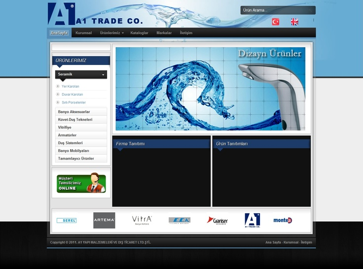 A1 Trade Co. Website Design