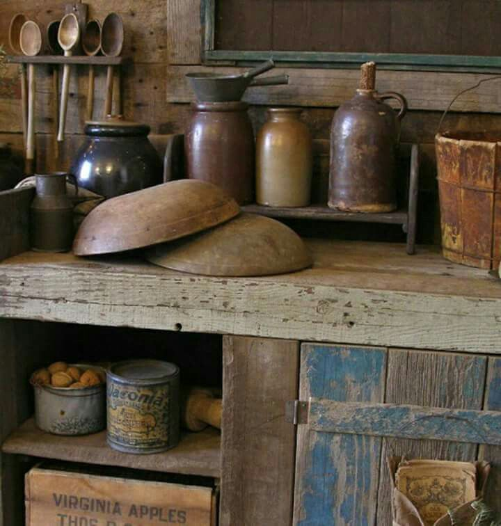 36 Stylish Primitive Home Decorating Ideas: 1000+ Ideas About Primitive Kitchen Decor On Pinterest