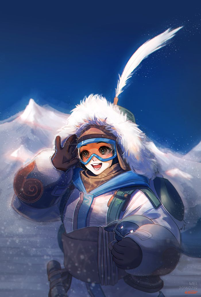 MEI - More at https://pinterest.com/supergirlsart/ #overwatch #fanart