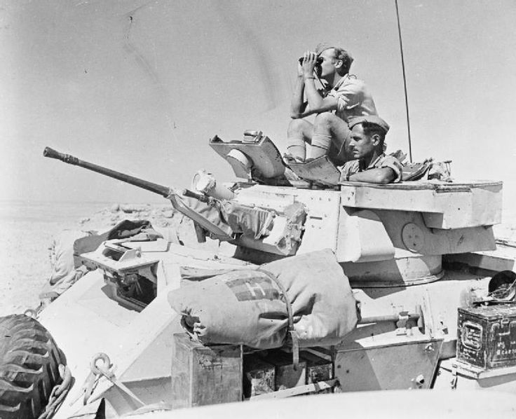 british army north africa 1942 e 15509 a humber mk ii armoured car of 4th light armoured. Black Bedroom Furniture Sets. Home Design Ideas