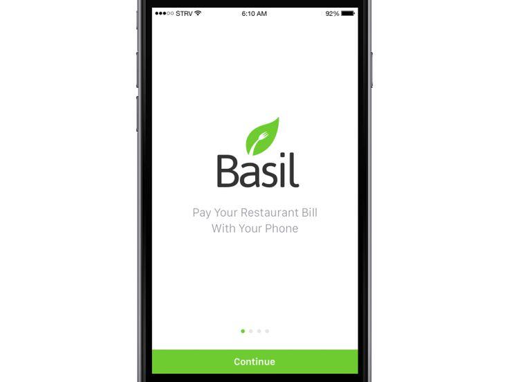 Basil App Walkthrough / Ales Nesetril