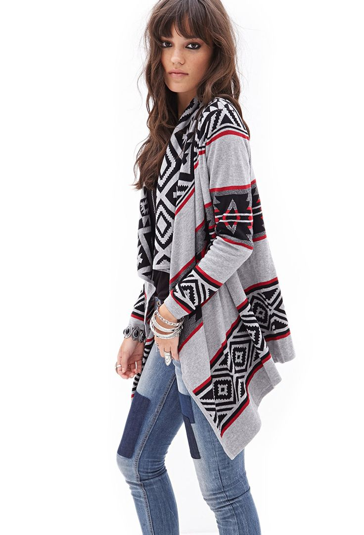 Free shipping 17% OFF Open Front Tribal Print Cardigan in WHITE/BLACK L with only $ online and shop other cheap Sweaters & Cardigans on sale at coolmfilb6.gq