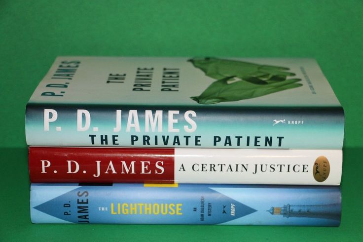 Lot of 3 P.D. James Hardcover Books A Certain Justice The Lighthouse Private Patient