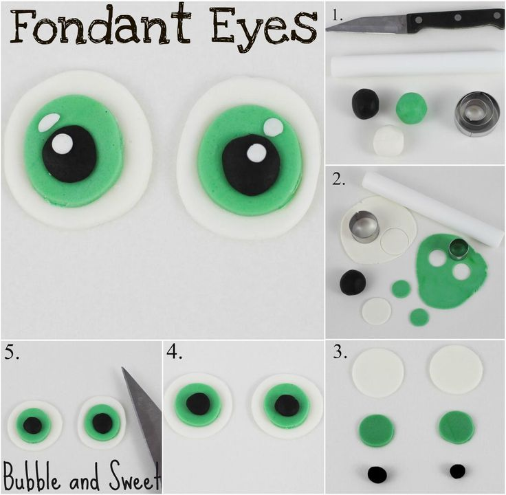 Fondant Eyes
