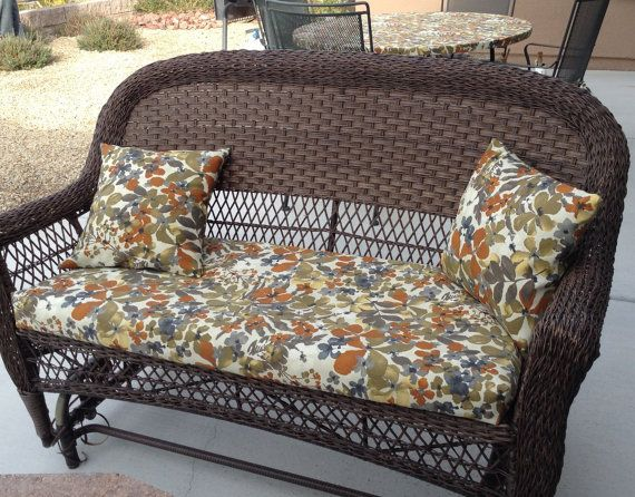 Outdoor Patio Furniture Cushion Covers By BrittaLeighDesigns. It Is Time To  Get Your Patio Ready