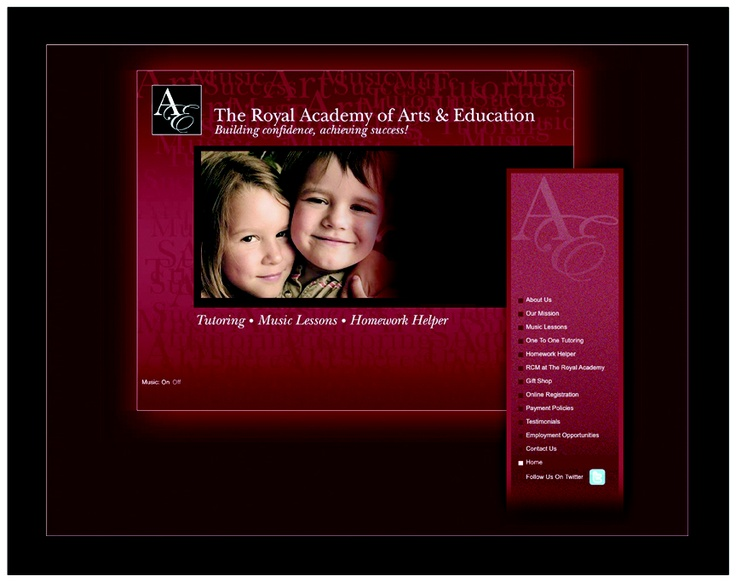 The Royal Academy of Arts & Education - Website by Netmosphere Design Inc., www.netmo.ca