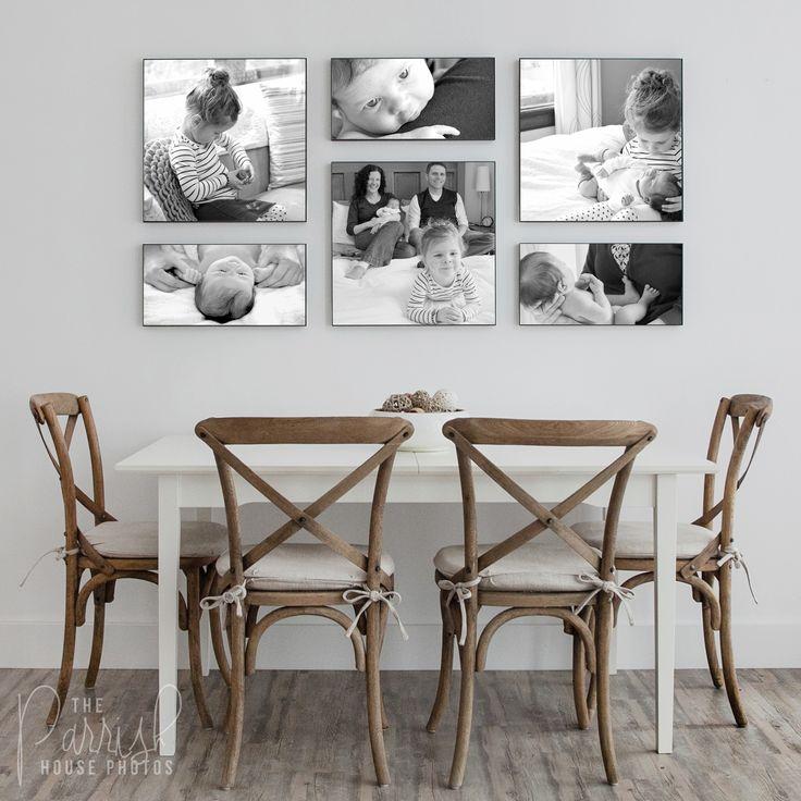 Newborn Family Photography - Custom Wall Collage