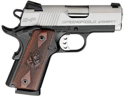 "Springfield Armory 1911 PI9240LP EMP 40 S&W  3"" Cocobolo Wood Grip"