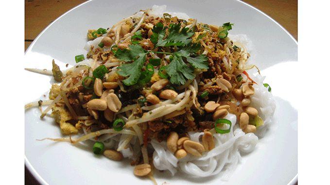 Vegetarische Pad Thai - Vegetarisch Recept