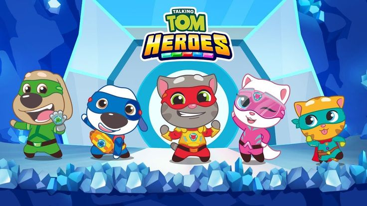 Talking Tom Heroes Fun Cartoons LIVE 24/7 🔴 Talking