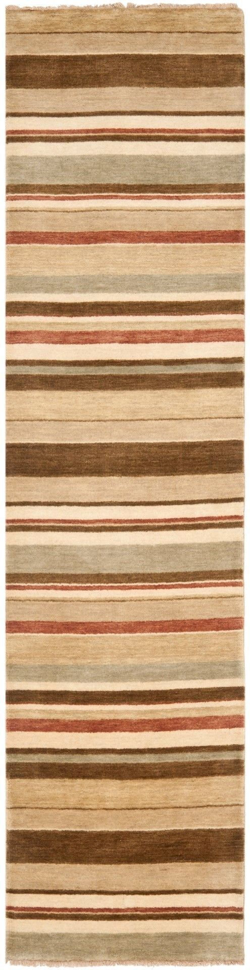 Tibetan Hand-Knotted Camel Area Rug