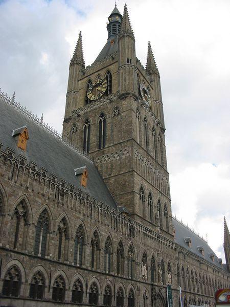Belfry Tower, Ypres, Flanders Region, Belgium