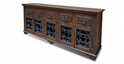 Keystone Solid Wood Sideboard