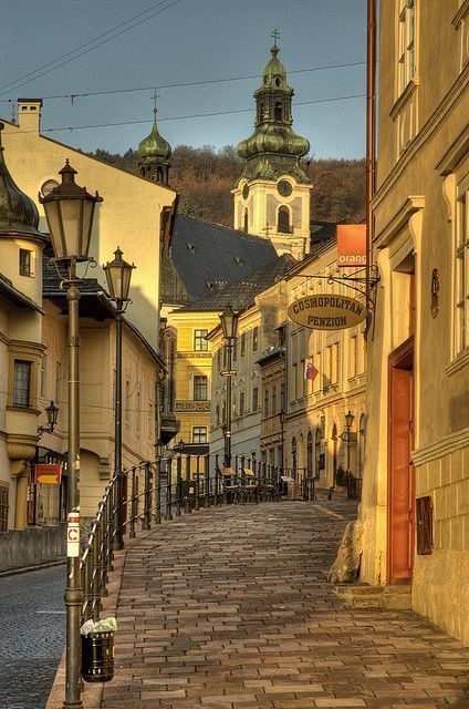 Banská Štiavnica, UNESCO´s World Cultural Heritage site in Slovakia (by…
