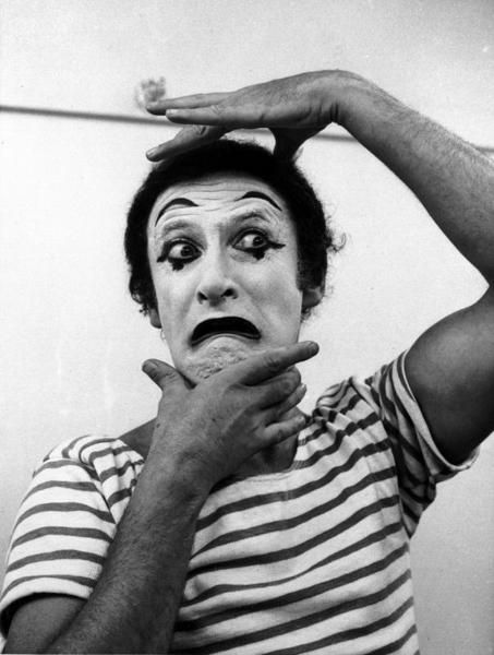 Mime - all you need is a striped black and white shirt and some face paint and you're good to go