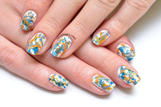 Jackson Pollock nails