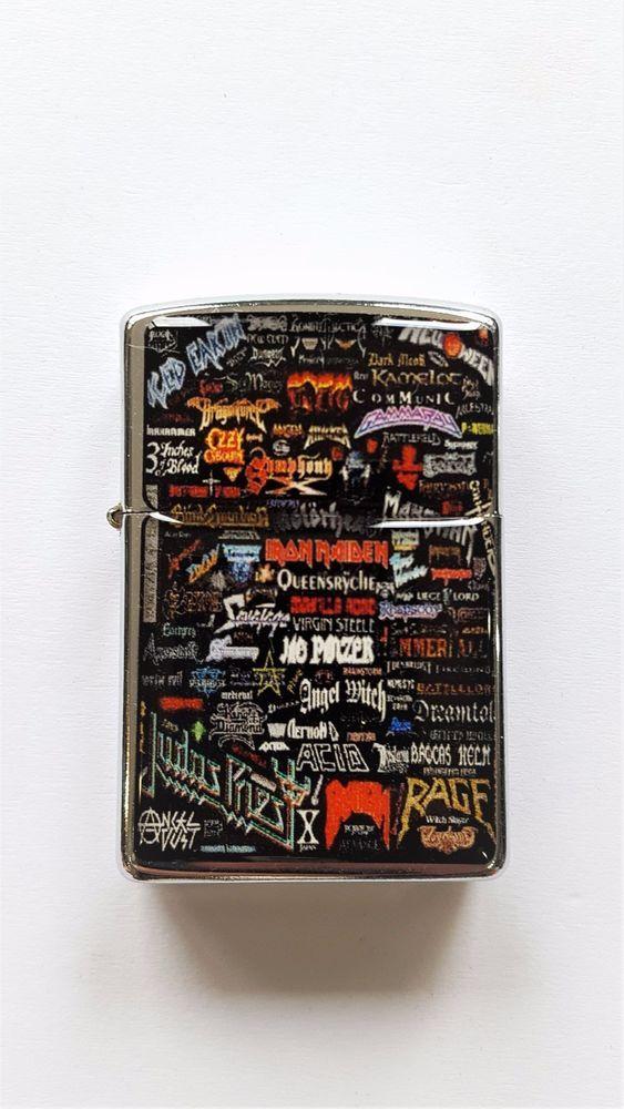 Iron Maiden,Ozzy, Best Metal Bands Black Lighter Torch Lighter Gift For Friends