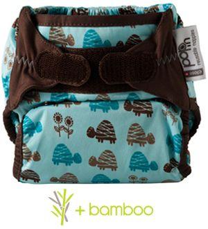 PAÑAL DOS EN UNO estampados de Bambú de Pop-in PVP: 21'25€ Información y pedidos: info.debebeshop@gmail.com