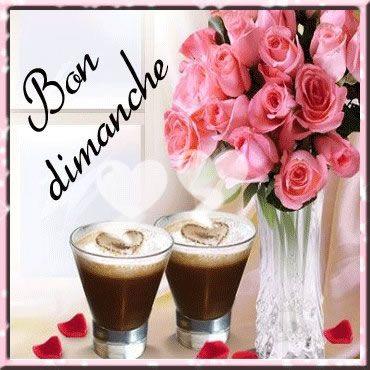 Bon dimanche #dimanche cafe fleurs bouquet de roses | Blessed sunday, Day wishes, Happy friendship day