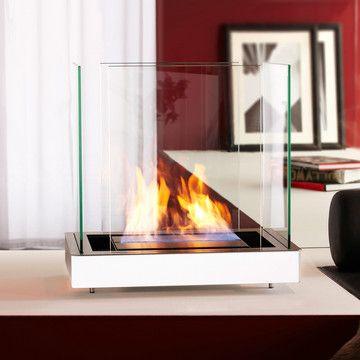 Beautiful white flame sculpture.