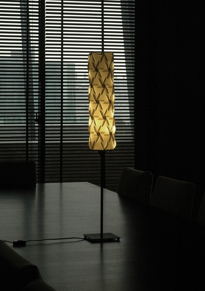 Baroque Light, with multiple combination shapes by triangle element. - 2008 Red Dot product design award. [Designer - Justy] @ Taiwan